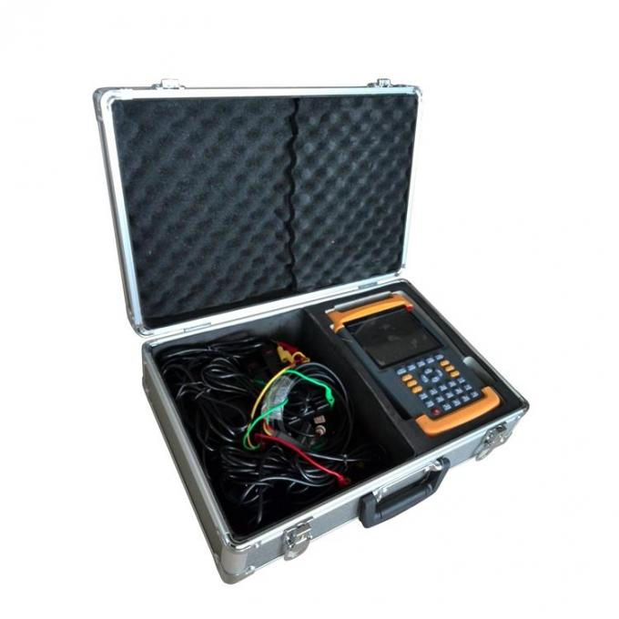 Portable Multi - Channel Wiring Analyzer , Power Meter Analyzer Long Life