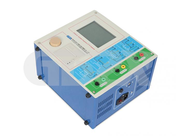 IEC Standards Variable-frequency Portable CT/PT Analyzer used for for Laboratory,0~180Vrms 12Arms 36A(peak)