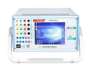 China Universal Auto Testing Machine Six Phase Relay Protection Tester Warranty 1 Year supplier