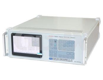 High Precise Three Phase Electrical Power Calibrator Programmable Testing Source