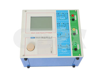 China IEC Standards Variable-frequency Portable CT/PT Analyzer used for for Laboratory,0~180Vrms 12Arms 36A(peak) supplier
