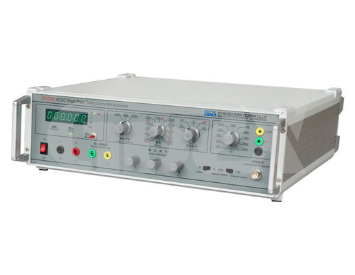 Continuous AC DC Single Phase Calibration Source