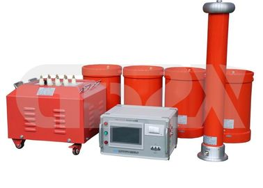 China 135kVA 108KV AC High Voltage Resonant Test System With Since Output Wave distributor