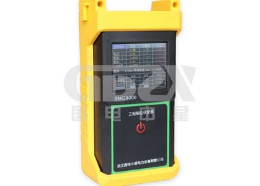 China Finger Touch Three Phase Power Analyzer , Power Quality Monitoring Equipment Static Data Save Function distributor