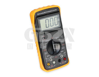 China Double Clamp Digital Phase Meter , Portable Power Quality Analyser High Resolution distributor