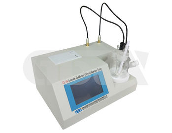 China Oil Moisture Measuring Equipment , Portable Transformer Oil Water Content Tester Large Screen LCD distributor