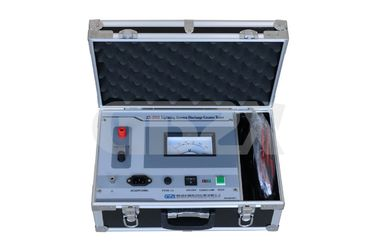 China Little Weight Lightning Arrester Test Equipment / Lightning Arrester Tester distributor