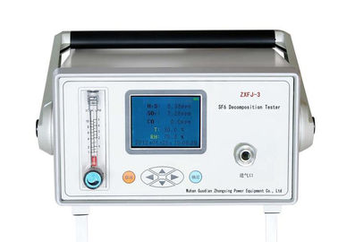 China GIS Gas Decomposition SF6 Gas Analyzer Fault Diagnosis Built In Power Source factory