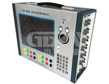 China Optical Digital Microcomputer Three Phase Protection Relay Test Set AC220V+/-10% 50Hz /60Hz distributor
