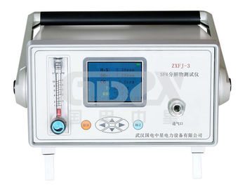 China Fast Test Sf6 Gas Purity Analyzer , Portable Sf6 Gas Leak Detector Atmospheric Pressure 86kPa - 106kPa distributor