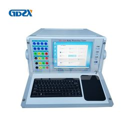 China Six Phase Relay Protection Tester Secondary Injection 1Hz - 2000Hz Frequency Output 40A/Phas distributor