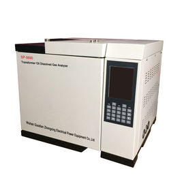 China Transformer Oil Dissolved Gas Analyzer Gas Chromatograph with Color LCD Screen distributor
